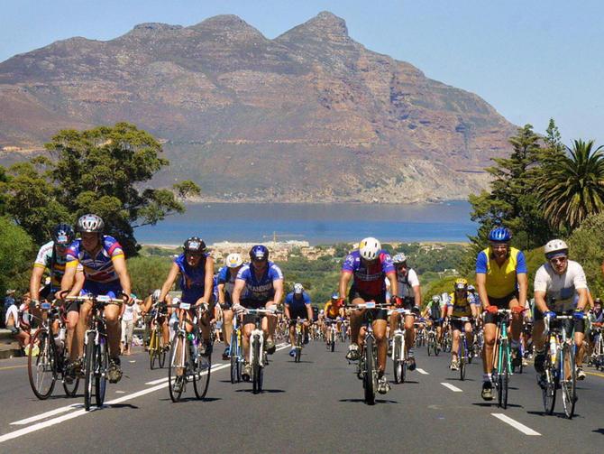 Cape Town Cycle Race Suikerbossie